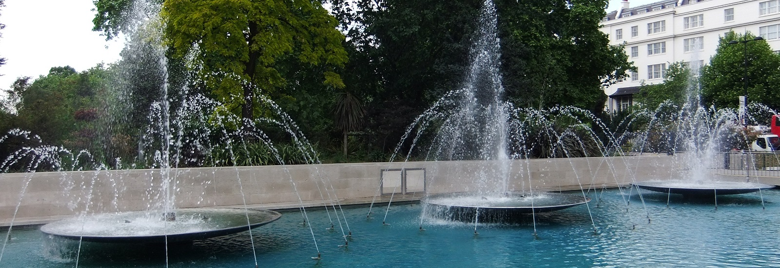 Изграждане на фонтани